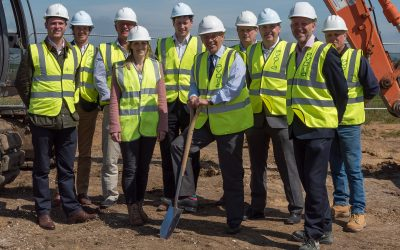 £2M construction continues at Broadhelm Business Park, Pocklington