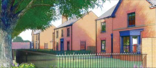 LUXURY HOMES TAKE SHAPE AT CONNAUGHT COURT, YORK