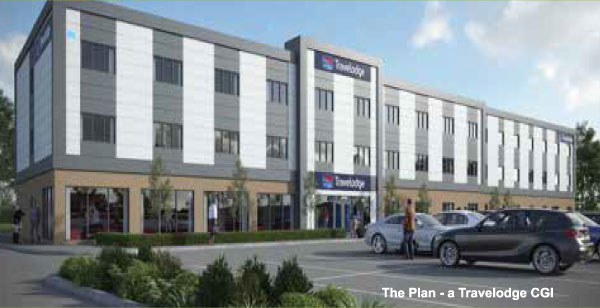 £7.5M Travelodge nears completion at Monks Cross, York