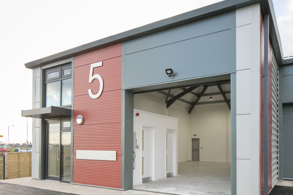 11,000 sq ft of industrial space sold at £2M business park