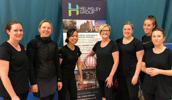 Women in Property netball at English Institute of Sport